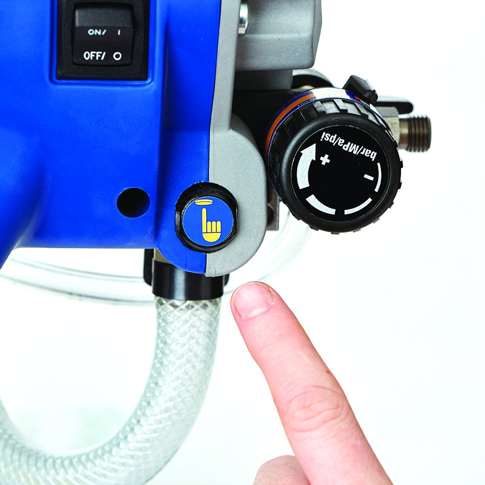 Graco Magnum X5 Stand Airless Paint Sprayer: Graco Magnum 262805 X7 Cart Airless Paint Sprayer