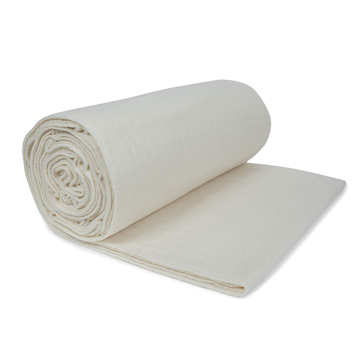 45-Inch 5 Yard Roll Low Soft Fairfield SNTY4505 Soft and Toasty Natural 100-Percent Cotton Batting