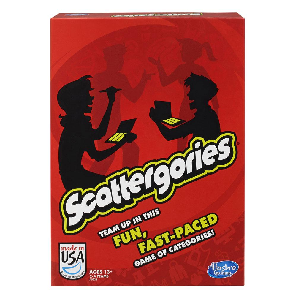 Amazon.com: Scattergories Game: Toys & Games