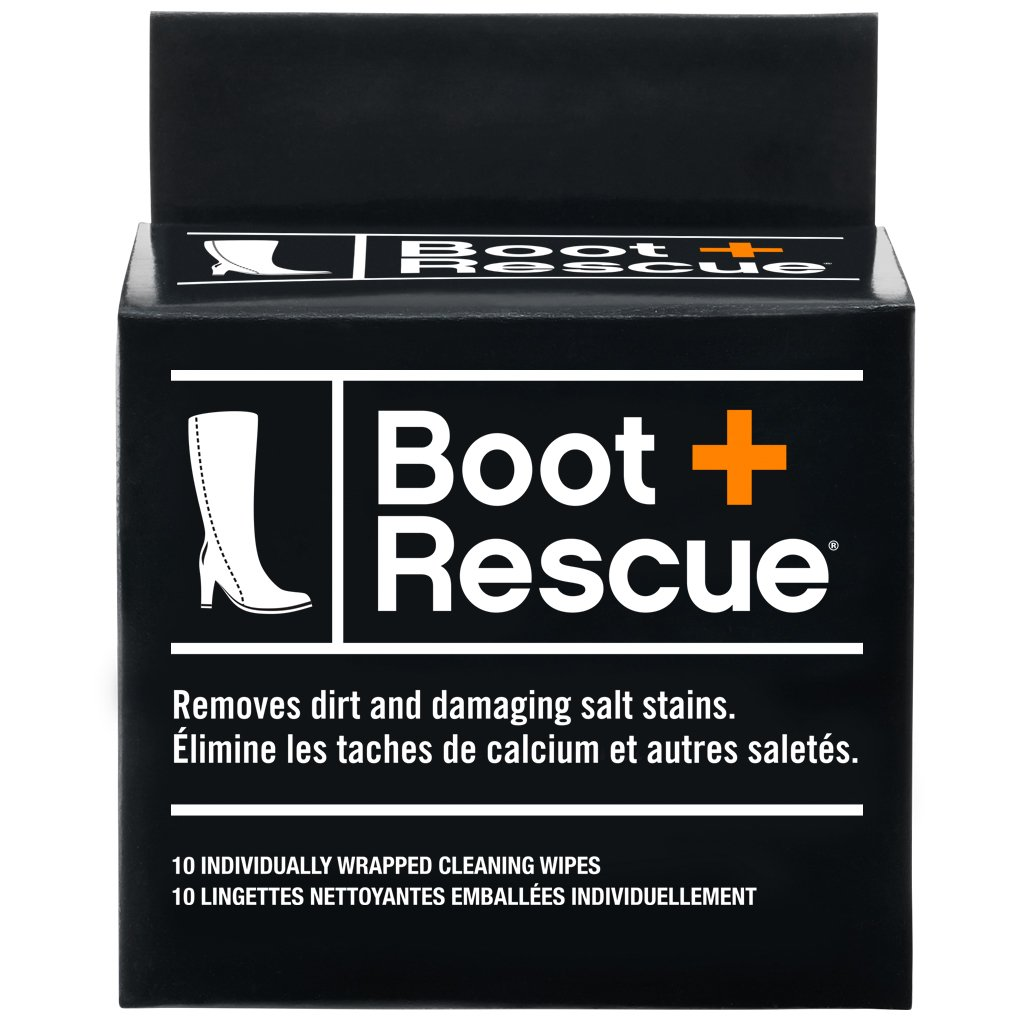 Boot Rescue All-Natural Cleaning Wipes for Leather and Suede Shoes & Boots product image