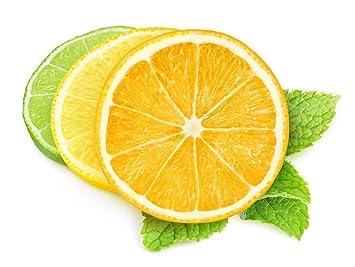 Cosanter 5 Stuck Kunstliche Gefalschte Zitronenscheiben Deko