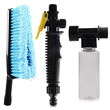 Car Wash Brush,Pausseo Water Pipe Washing Brush Microfiber
