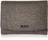 Tumi Women's Sinclair Tri-Fold Wallet Travel Purse, Earl Grey, One Size For Sale