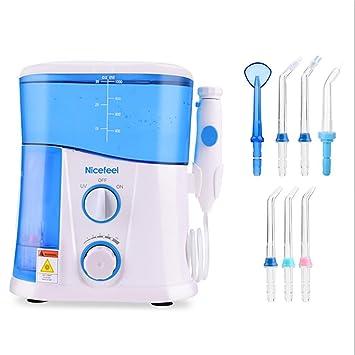 Cepillos de dientes eléctricos de rotación Irrigador dental y Nasal SMX&xh Flosser de agua con 7