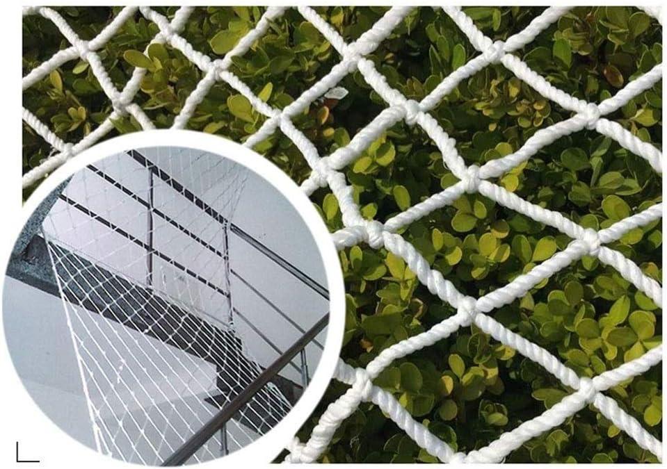 チャイルドセーフティネット、保護ネットナイロンロープネット家庭用階段バルコニー幼稚園壁の装飾ネット、落下防止ネット(6mm / 10cm) (Size : 2*4m)  2*4m