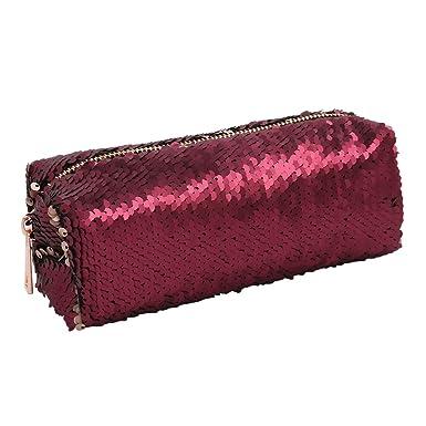 Bolso de mano DIY Bolsos Mujer Reversible de Doble color Moda Bolso de lentejuelas Para fiesta