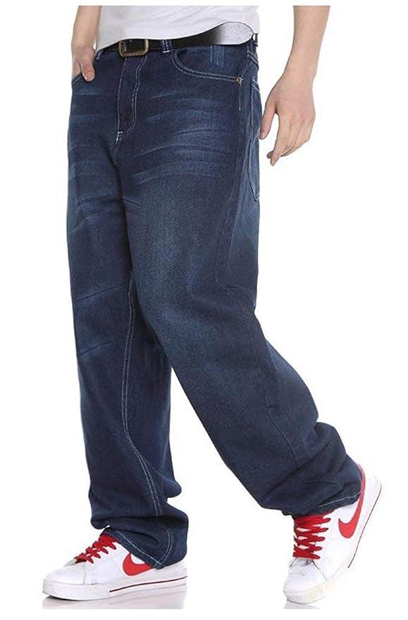 a14be4da05a44 Pantalones De Mezclilla De Hip Hop Hombres De Skinny Los 2018 Pantalones De  Mezclilla Holgados Del Estilo Del Inconformista Pantalones De Pantalón De  ...