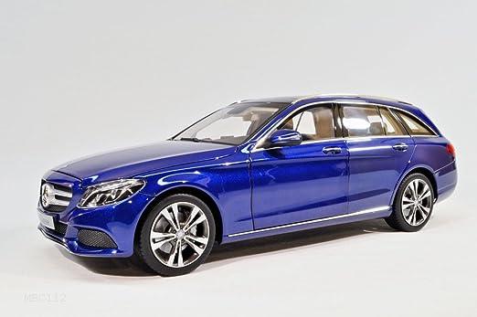 Mercedes-Benz C-Klasse Limousine Anthrazit Blau Schwarz W205 Modell 2014 Ab Face