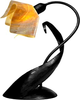 product image for Jezebel Signature TLLD-B-FP12-HON Flame Style Black Lazy Daisy Lamp, Honeysuckle