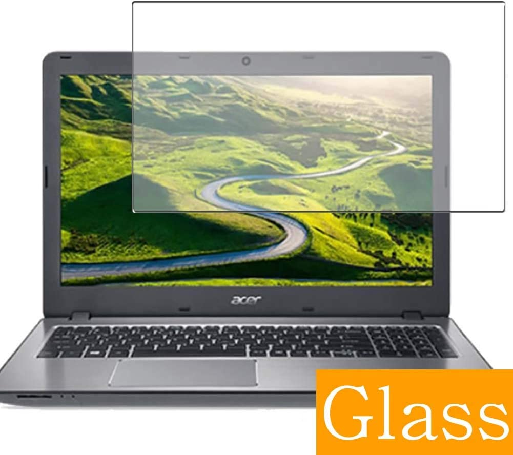 """Synvy Tempered Glass Screen Protector for Acer Aspire F Series F5-573-H78G / S 15.6"""" Visible Area Protective Screen Film Protectors 9H Anti-Scratch Bubble Free"""