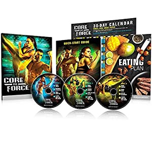 Beachbody CORE DE FORCE Base Kit DVD workout program - MMA inspired - created by 9