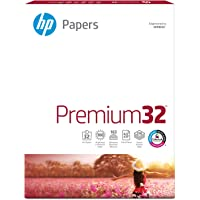 HP Paper, Premium Choice Laserjet, 32lb, 8.5x11, Letter, 100 Bright, 250 Sheets / 1 Pack, (113500) Made in The USA