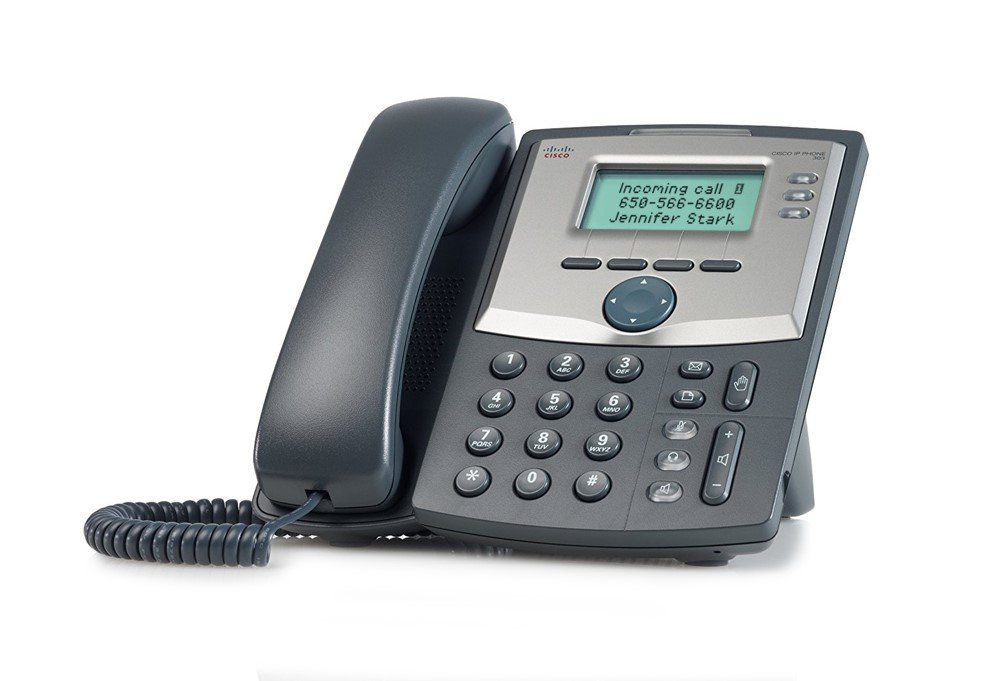 Ooma Office Provisioned Cisco Spa 303 3-Line IP Phone by ooma