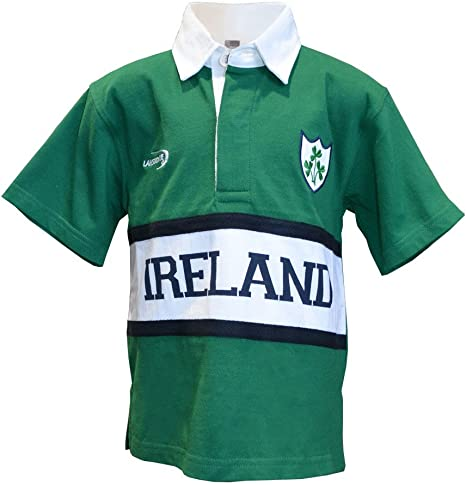 Camisa de rugby irlandés para niños, disponible en tallas de 6-12 meses hasta 11-12años: Amazon.es: Ropa y accesorios