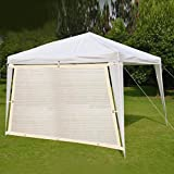 Shatex 90% Hanging-up Sunblock Shade Panel with Grommets for Window/RV Awning, Sun shelter,Patio Cover 12'x 14', Wheat