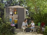 KETER Facto Resin Outdoor Storage Shed for Patio