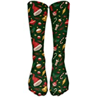 Style Unisex Socks Casual Knee High Stockings Christmas Gift Cotton Socks One Size