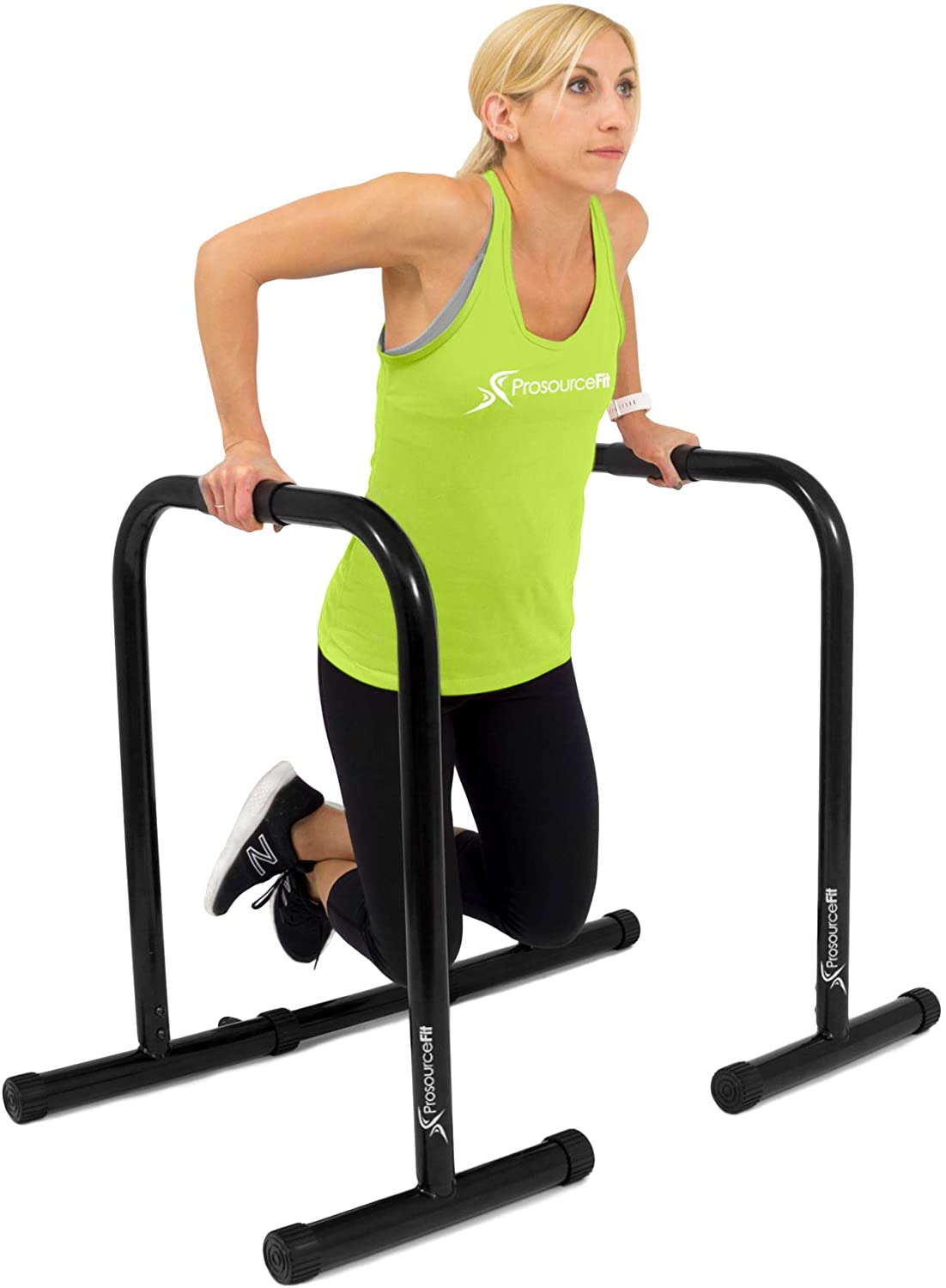 ProsourceFit Dip Stand Station Ultimate Heavy Duty Body Bar Press