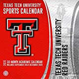Texas Tech University Red Raiders 2020 Calendar