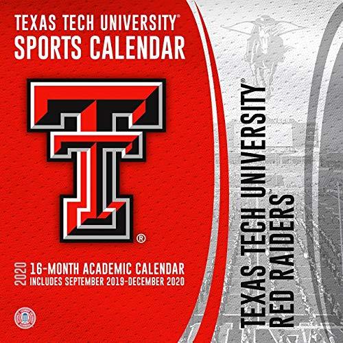 Texas Tech University Red Raiders 2020 Calendar (Raiders Calendar)