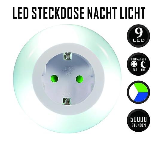 16 opinioni per Emotionlite Luce Notturna LED con Sensore Crepuscolare Luce Notturna Integrato