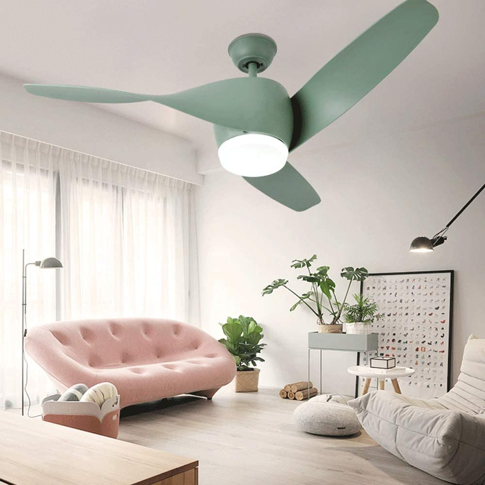 La luz simple y creativa del ventilador del techo equilibra la luz ...