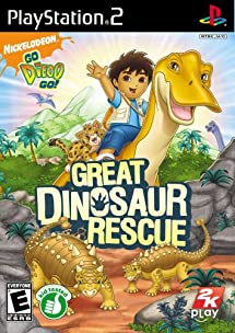 Go, Diego, Go!: Great Dinosaur Rescue - PlayStation 2