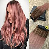 Best rose gold hair extensions reviews extended top 30 rose gold hair extensions pmusecretfo Choice Image