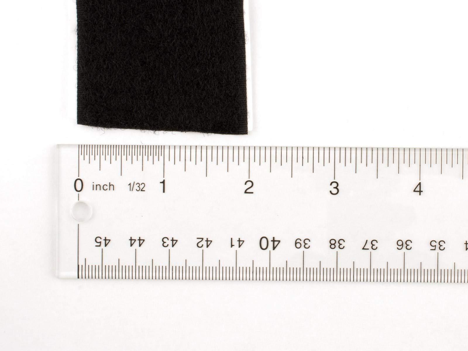 2 Inch White Self-Adhesive Hook and Loop - 5 Yards