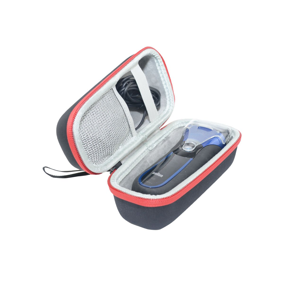 for Braun Series 3 ProSkin 3040s 3010BT 3010s 300s 310s 3000s Men Wet and Dry Electric Shaver/Razor Hard Travel Case Bag by SANVSEN