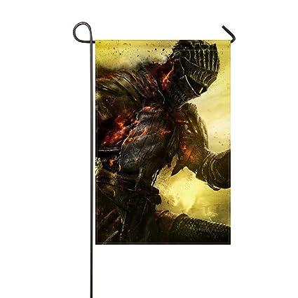Amazon com : JiaoL Garden Flag Dark Souls 3 Armor Warrior