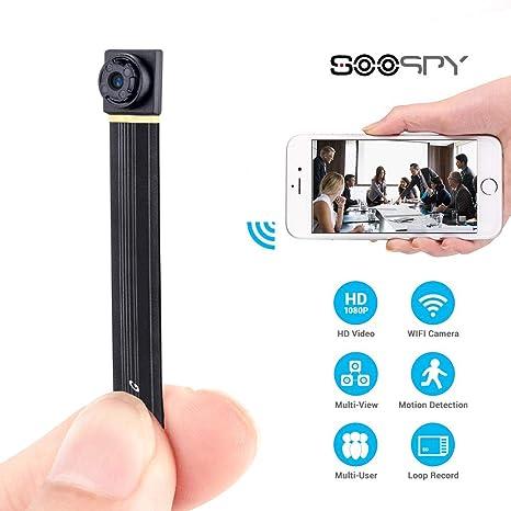 Cámara espía Oculta WiFi de 1080P con cámara de Seguridad inalámbrica y portátil, grabadora de