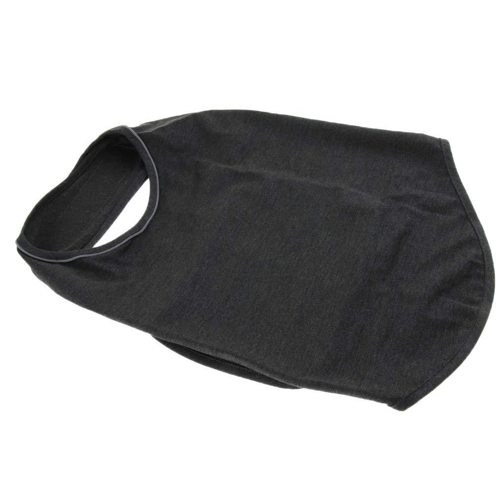 Light Gray S Baoblaze Pet Anti Separation Thunder Calm Fear Relief Vest Jacket Shirt Dogs