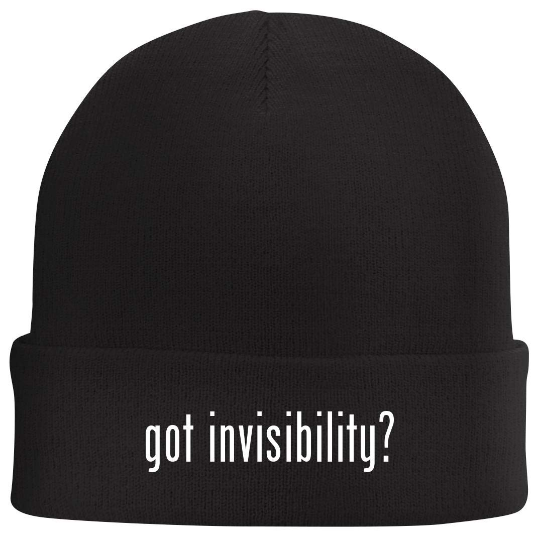 Tracy Gifts got Invisibility? - Beanie Skull Cap with Fleece Liner ...