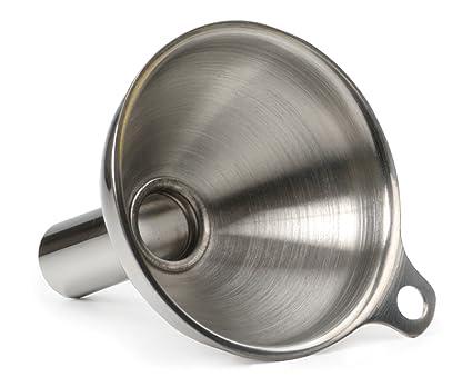 Amazon.com: Embudo de acero inoxidable, para rellenar ...