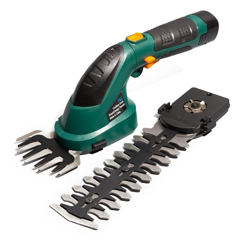 MLG Tools ET1511 7.2-Volt Lithium Cordless Compact Grass Shear/Shrub Trimmer Combo