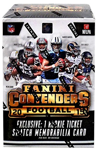 2015 Panini NFL Contenders Football Factory Sealed Blaster Box -