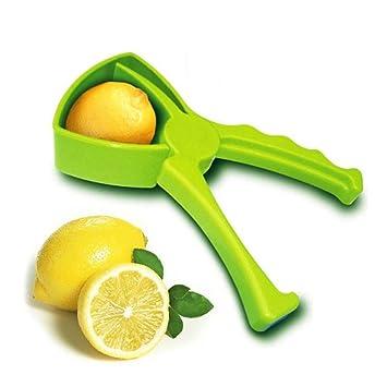 Compra TAOtTAO - Exprimidor Manual Hecho a Mano, diseño de Gota de limón, Color Naranja en Amazon.es