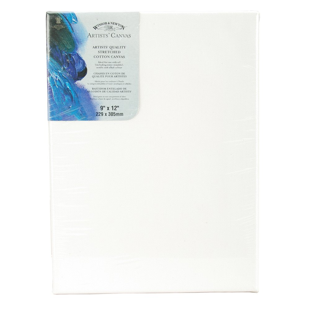 Amazon.com : W&N Artists Stretched Canvas 9X12 : Prestretched Art ...