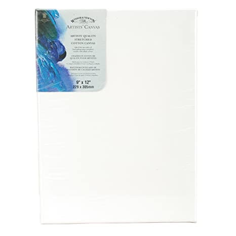 W&N Artists Stretched Canvas 9X12