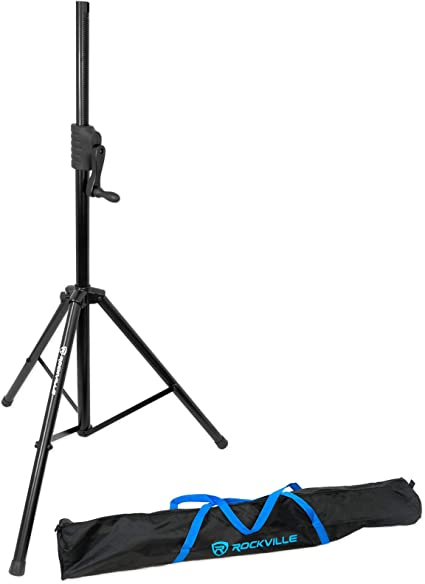 Tripod Speaker Stand NEW Pyle PSTND25 6 FT Up to 110 lbs