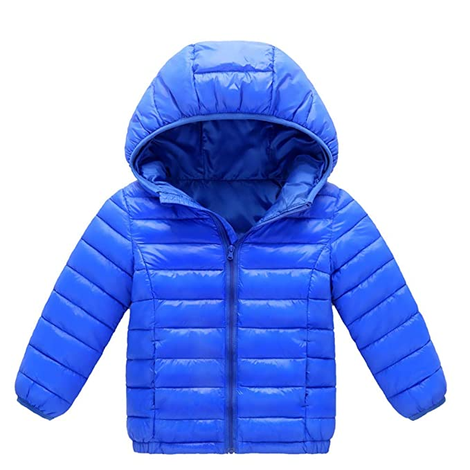 Amazon.com: Yesyes Baby Winter Warm Hooded Puffer Down ...