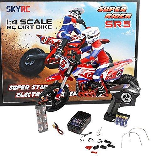 MALTA★SKYRC SR5 SUPER RIDER 1/4スケールRCオフロードバイク ブラシレス仕様 RTR完成車フルセット SK-700001