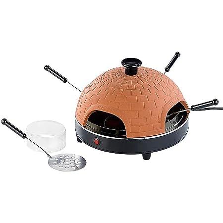 Monsterzeug - Raclette para Pizza, Mini Horno, Horno de Piedra ...