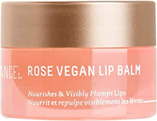product image for Biossance Squalane + Rose Vegan Lip Balm - Hyaluronic Acid Lip Treatment with No Beeswax + No Petroleum for Plump, Hydrated Lips - No Parabens or Synthetic Fragrance - Vegan + Fragrance-Free (10g)