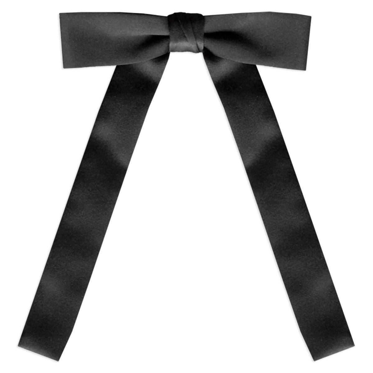 Black Satin Western Tie UniformTux 100WT-01-FBA