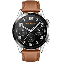 HUAWEI Watch GT 2, 2 Week Battery Life, 15 Workout Modes and Full-time Fitness Trainer, 46mm with an Additional Strap in…