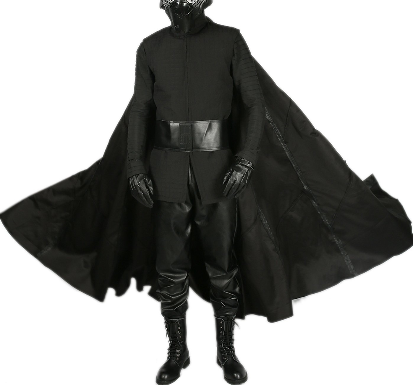 Kylo Ren Costume Last Jedi SW 8 Cosplay Outfit Adult Full Suit Custom Made L