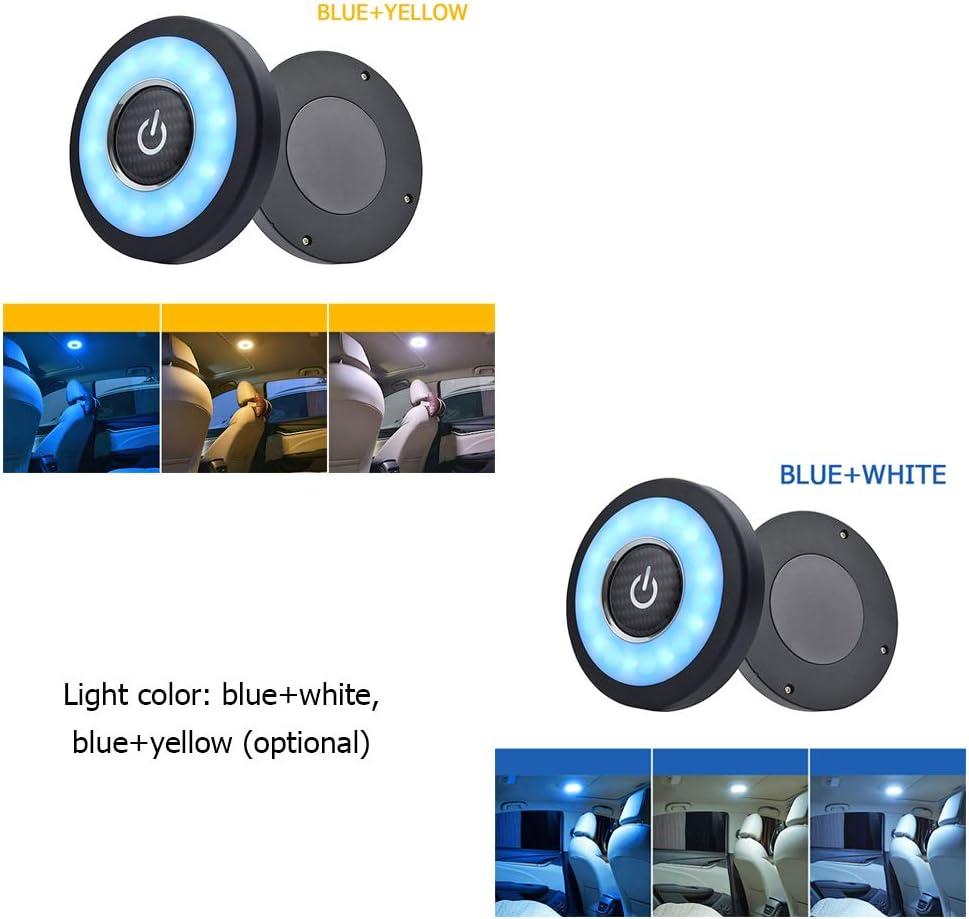 Kecheer L/ámpara de techo del coche Luz de lectura LED modificada Iluminaci/ón del coche L/ámpara de atm/ósfera interior Hogar Familia Auto Luces LED
