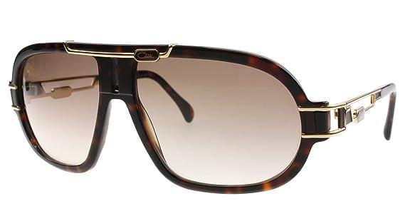 Amazon.com: Cazal 8018 Gafas de sol 003 tortuga y dorado ...